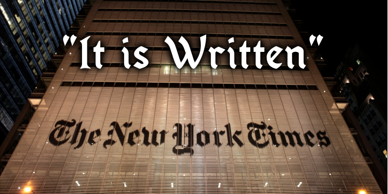 New_York_Times_It_is_Written